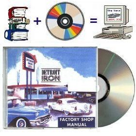 Show details of 1957 Pontiac Factory Shop Manual on CD-rom.