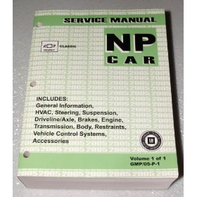 Show details of 2005 Chevrolet Malibu Classic Service Manual.