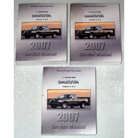 Show details of 2007 Dodge Dakota Factory Service Manuals.