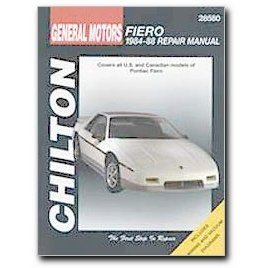 Show details of Chilton Pontiac Fiero (84 - 88) Manual.