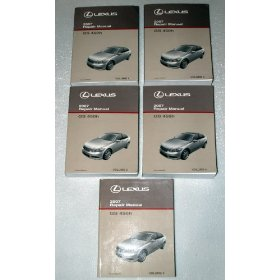 Show details of 2007 Lexus GS450h Factory Repair Manuals.