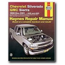 Show details of Haynes Chevrolet Silverado and GMC Sierra Pick-ups (99 - 01) Manual.