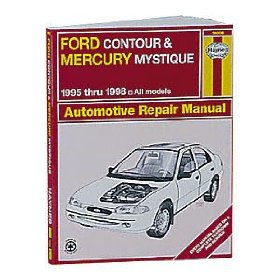 Show details of Haynes Ford Contour and Mercury Mystique (95 - 00) Manual.