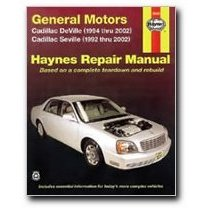 Show details of Haynes General Motors: Cadillac Deville and Seville (92 - 02) Manual.