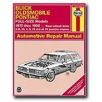 Show details of Haynes Buick Oldsmobile and Pontiac Full-size (RWD) (70 - 90) Manual.