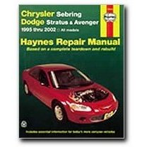 Show details of Haynes Chrysler Sebring/Dodge Stratus and Avenger (95 - 02) Manual (Paperback).