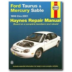 Show details of Haynes Ford Taurus and Mercury Sable (96 - 05) Manual (Paperback).