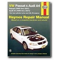 Show details of Haynes Volkswagen Passat and Audi A4 (96 - 01) Manual (Paperback).