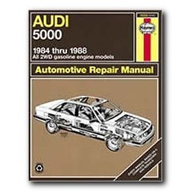 Show details of Haynes Audi 5000 (84 - 88) Repair Manual.