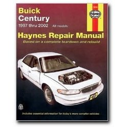 Show details of Haynes Buick Century 97 thru 02 Manual.