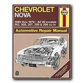 Show details of Haynes Automotive Repair Manual Chevrolet Nova 1969-79.
