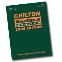 Show details of Chiltons Book Company (CHN130600) Chilton 2006 Chrysler Mechanical Service Manual.