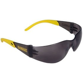 Show details of Dewalt DPG54-2C Protector Smoke High Performance Lightweight Protective Safety Glasses with Wraparound Frame.