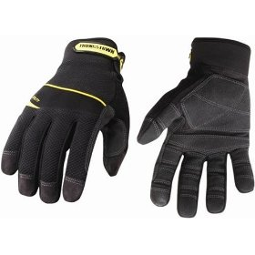Show details of Youngstown Glove Co. 03-3060-80-L General Utility Plus Performance Glove Large, Black.