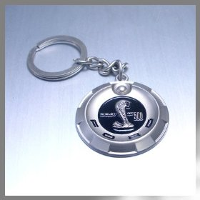 Show details of Ford Shelby GT500 Key Chain.