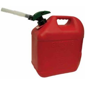 Show details of Blitz Enviro-Flo Plus Gas Can (5 gallons).