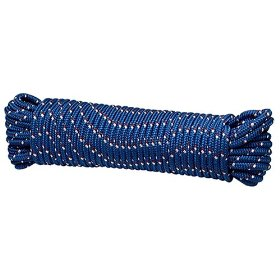Show details of Crawford-Lehigh MFP8100 3/8-Inch-by-100-Foot Diamond Braid Poly Rope, Colors Vary.