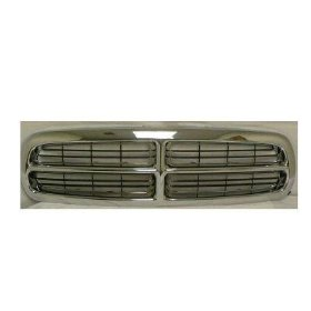 Show details of Chrome Grille Grill Dodge 97-04 Dakota Pickup Truck / 98-03 Durango Chromed 97 98 99 00 01 02 03 04 1997 1998 1999 2000 2001 2002 2003 2004.