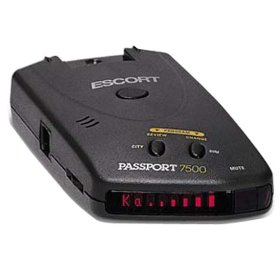 Show details of Escort Inc Passport 7500 Radar/Laser/Safety Detector.