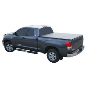 Show details of TruXedo 263701 TruXport Soft Roll-Up Dual Latch Tonneau Cover.