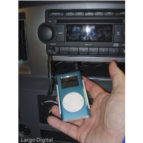 Show details of iPOD Zune or MP3 Aux Auxiliary Stereo Car Radio Input Jack Audio Cable for JEEP Patriot, Commander, Liberty, Compass.