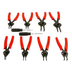 Show details of Professional-Grade Complete Snap Ring - Circlip Plier Set - EIGHT Pliers!.