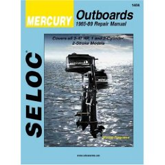 Show details of Mercury Outboards, 1-2 Cyl 1965-89 Vol 1(Seloc Publications Marine Manuals) (Paperback).