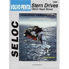 Show details of Volvo-Penta Stern Drives, 1968-1991 (Seloc Marine Tune-Up and Repair Manuals) (Paperback).