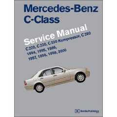 Show details of Mercedes-benz C-class Service Manual: W202, 1994-2000, C220, C230, C230 Kompressor, C280 (Paperback).