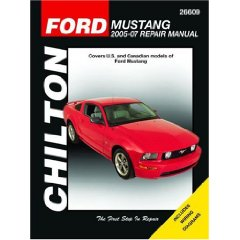 Show details of Ford Mustang: 2005 through 2007 (Chilton's Total Car Care Repair Manual) (Paperback).