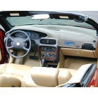 Show details of Black Brushed Suede Dash Cover: 72-76 Ford Gran Torino.